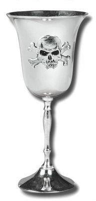 Accessories - Vampire Skull And Crossbones Chalice