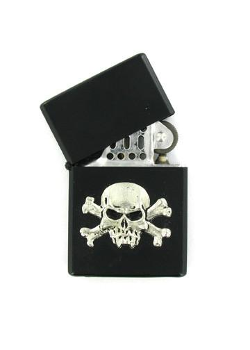 Accessories - Vampire Skull & Crossbones Black Lighter