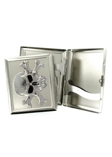 Accessories - Vampire Skull & Crossbones Cigarette Case