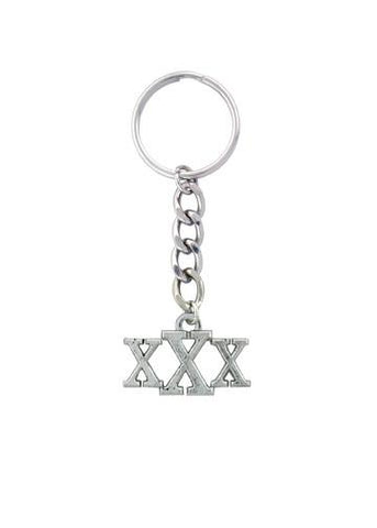 Accessories - XXX Straight Edge Keychain