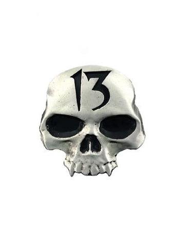 Belts & Buckles - 13 Vampire Skull Belt Buckle