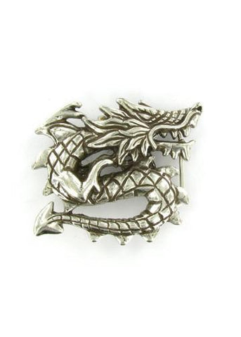 Belts & Buckles - Asian Dragon Belt Buckle
