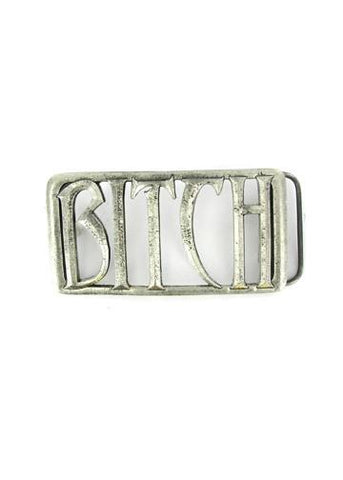 Belts & Buckles - Bitch Cut Out Belt Buckle