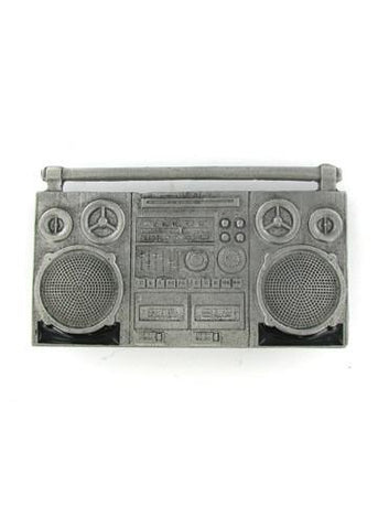 Belts & Buckles - Boom Box Ghetto Blaster Belt Buckle