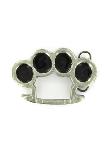 Belts & Buckles - Brass Knuckles Belt Buckle