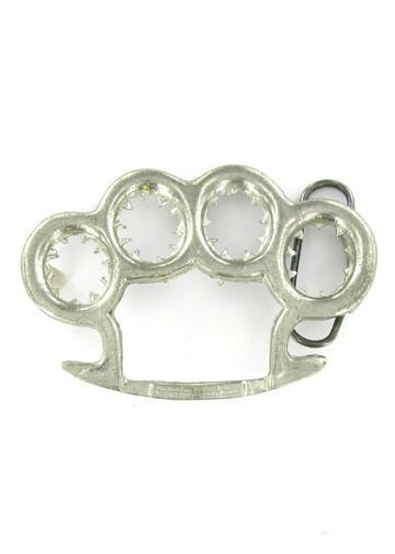 Belts & Buckles - Brass Knuckles - Knuckle Busters Belt Buckle