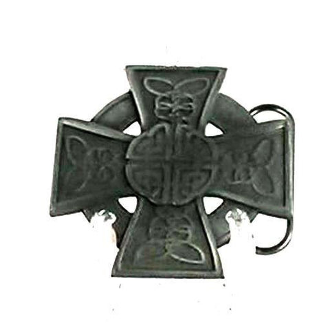 Belts & Buckles - Celtic Cross Belt Buckle