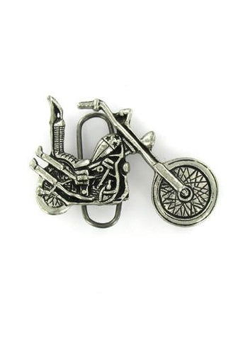 Belts & Buckles - Chopper Motorcycle Biker Belt Buckle