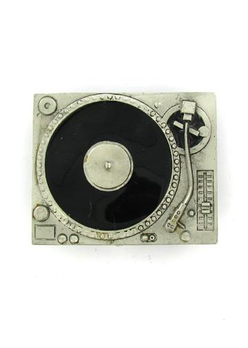 Belts & Buckles - DJ Turntable Record Player Belt Buckle