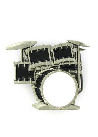 Belts & Buckles - Drum Kit Belt Buckle
