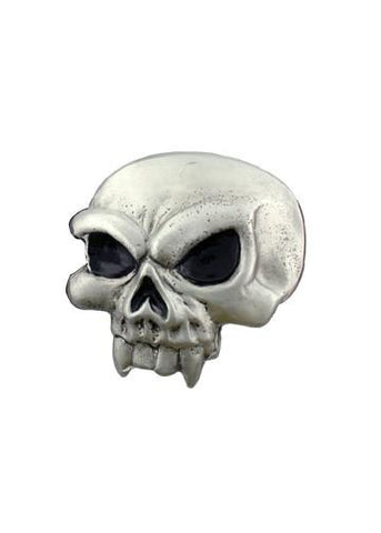 Belts & Buckles - Evil Vampire Skull Belt Buckle