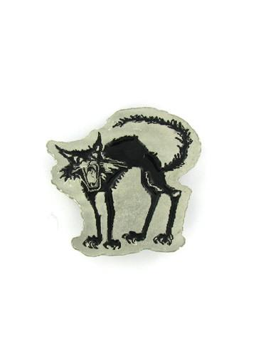 Belts & Buckles - Halloween Black Cat Belt Buckle
