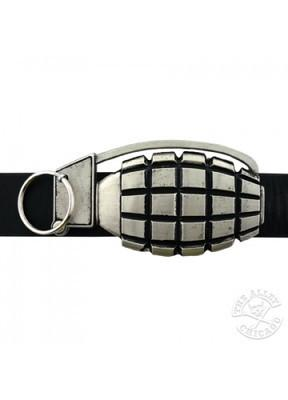 Belts & Buckles - Hand Grenade Belt Buckle