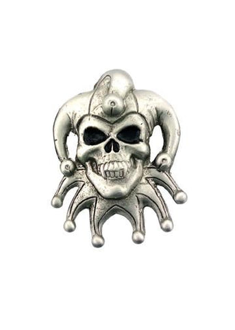 Belts & Buckles - Jester Skull Belt Buckle