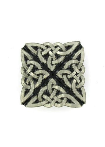 Belts & Buckles - Ornate Celtic Knot Belt Buckle