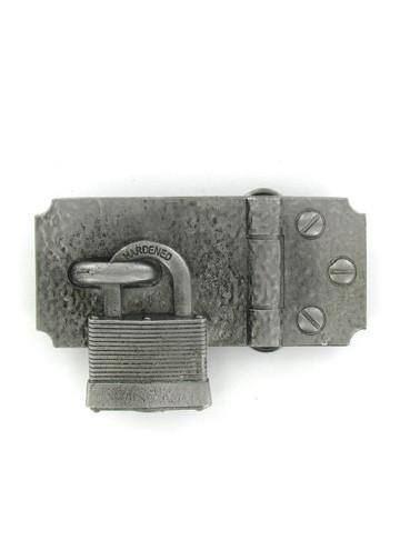Belts & Buckles - Padlock Belt Buckle