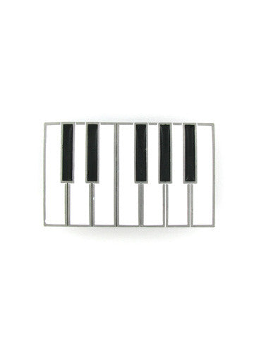 Belts & Buckles - Piano Keys Belt Buckle