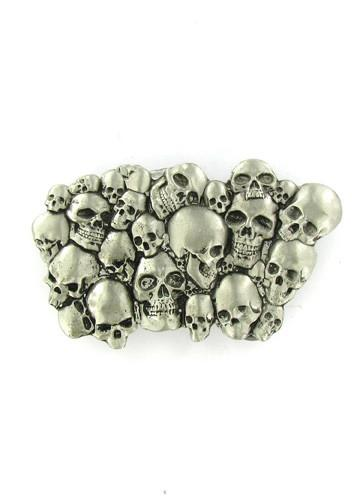 Belts & Buckles - Pile Of Skulls Belt Buckle