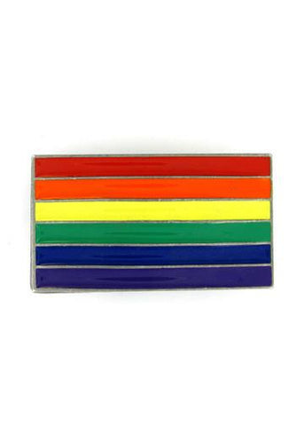 Belts & Buckles - Rainbow Pride Flag Belt Buckle