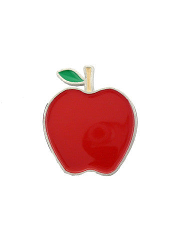 Belts & Buckles - Red Apple Belt Buckle