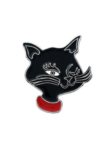 Belts & Buckles - Retro Cartoon Kittie Cat Belt Buckle