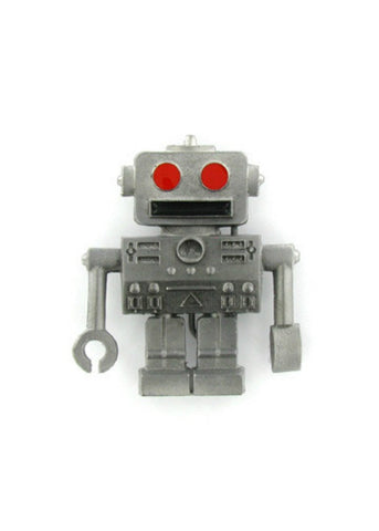 Belts & Buckles - Retro Robot Belt Buckle