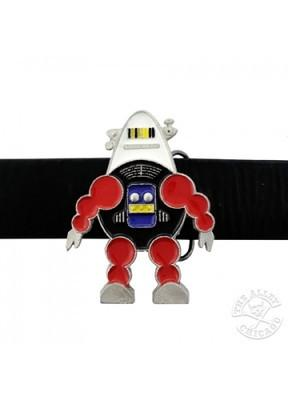 Belts & Buckles - Retro Robot Bubble Belt Buckle