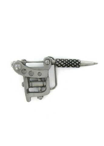 Belts & Buckles - Tattoo Gun Belt Buckle
