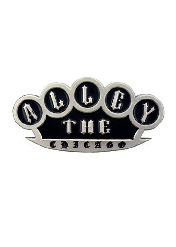 Belts & Buckles - The Alley Chicago Brass Knuckles Belt Buckle
