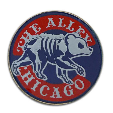 Baseball Chicago Parody Logo Hat Pin