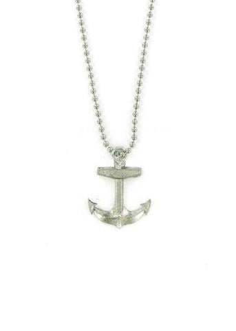 Jewelry - Boat Anchor Ball Chain Necklace