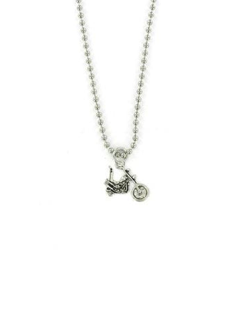 Jewelry - Chopper Motorcycle Ball Chain Necklace