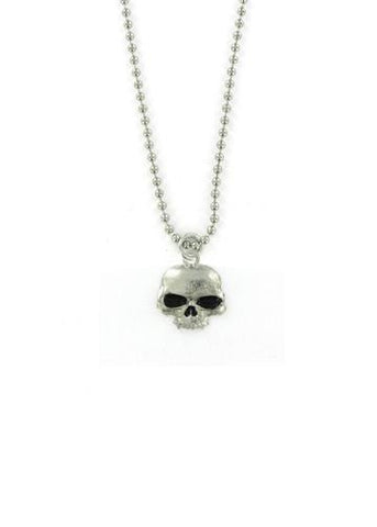 Jewelry - Classic Vampire Skull Ball Chain Necklace