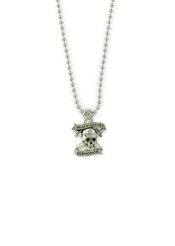 Jewelry - Death Before Dishonor Ball Chain Necklace