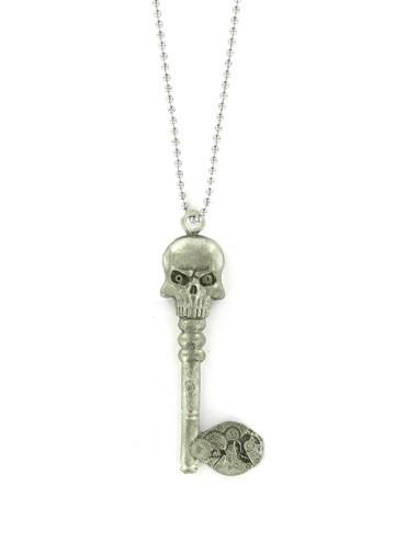 Jewelry - Death's Head Steampunk Skeleton Key Necklace