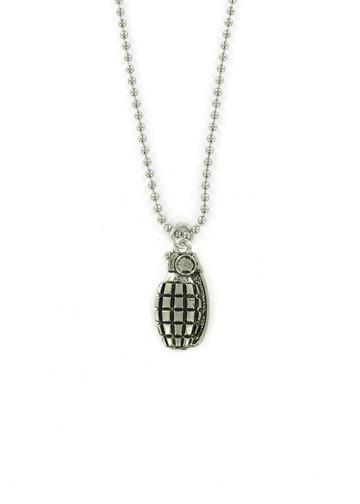 Jewelry - Hand Grenade Ball Chain Necklace