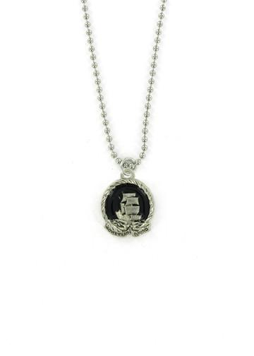 Jewelry - Homeward Bound Nautical Sailing Ship Ball Chain Necklace