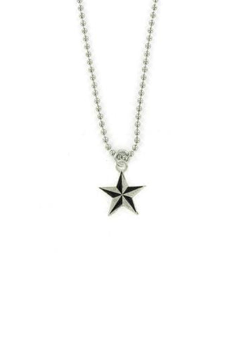 Jewelry - Nautical Star Ball Chain Necklace