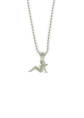 Jewelry - Trucker Mudflap Girl Ball Chain Necklace