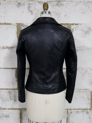 Leather Jackets - Dominique Womens Leather Jacket