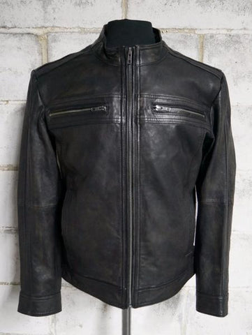 Leather Jackets - The Cruiser Mens Leather Jacket | The Alley