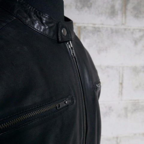 Leather Jackets - The General Mens Leather Jacket | The Alley