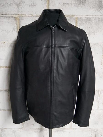 Leather Jackets - The Indiana Mens Leather Jacket | The Alley