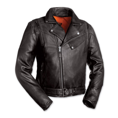 Leather Jackets - The Marlin Leather Motorcycle Jacket | The Alley