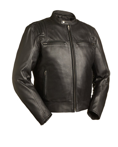 Leather Jackets - The Twister Leather Motorcycle Jacket | The Alley