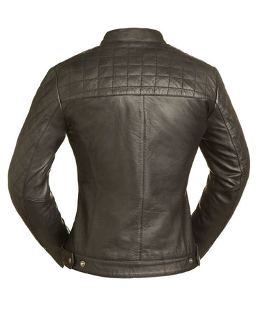 Leather Jackets - The Venus Womens Leather Motorcycle Jacket | The Alley