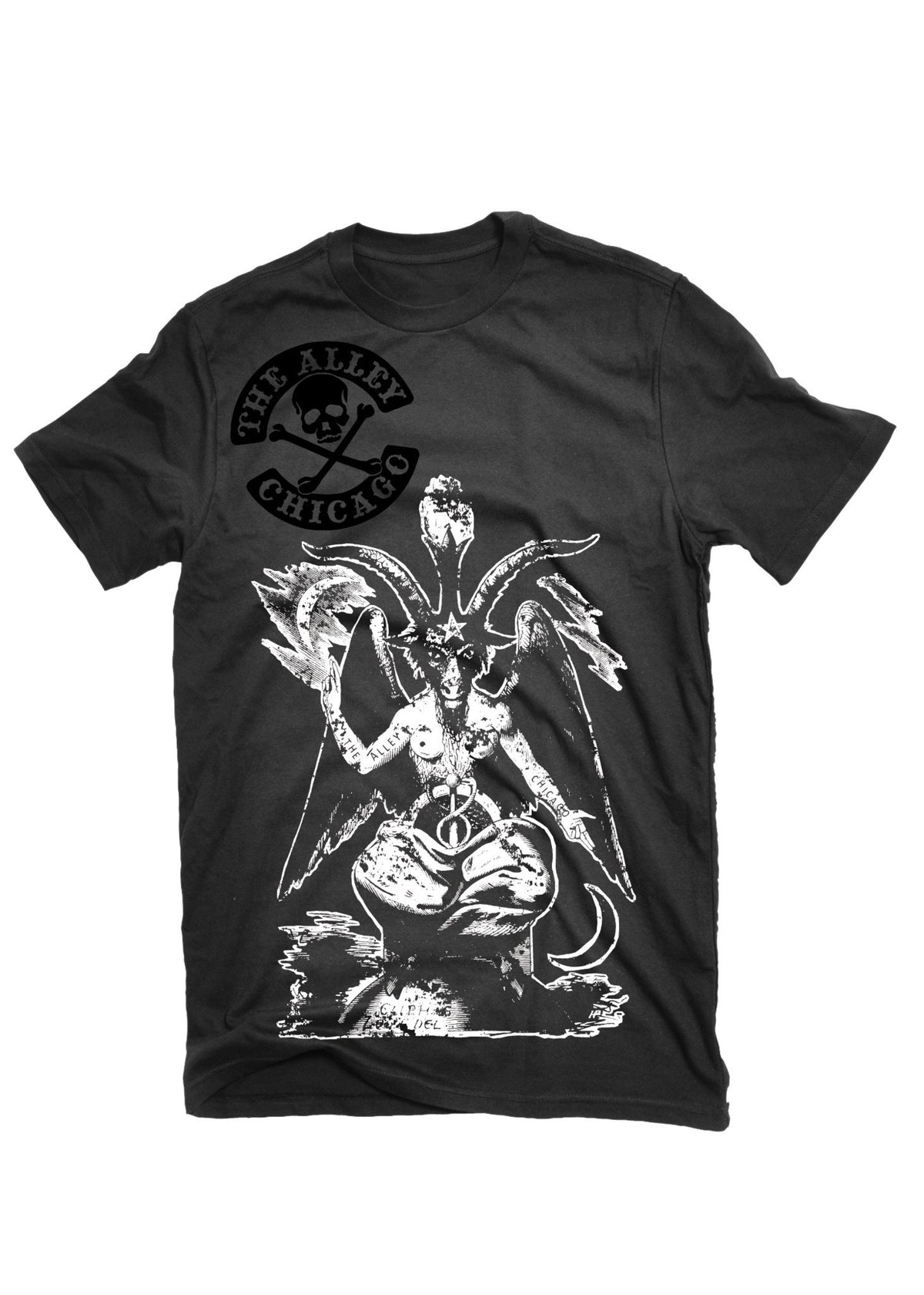 T-Shirts - The Alley Chicago Big Baphomet T- Shirt