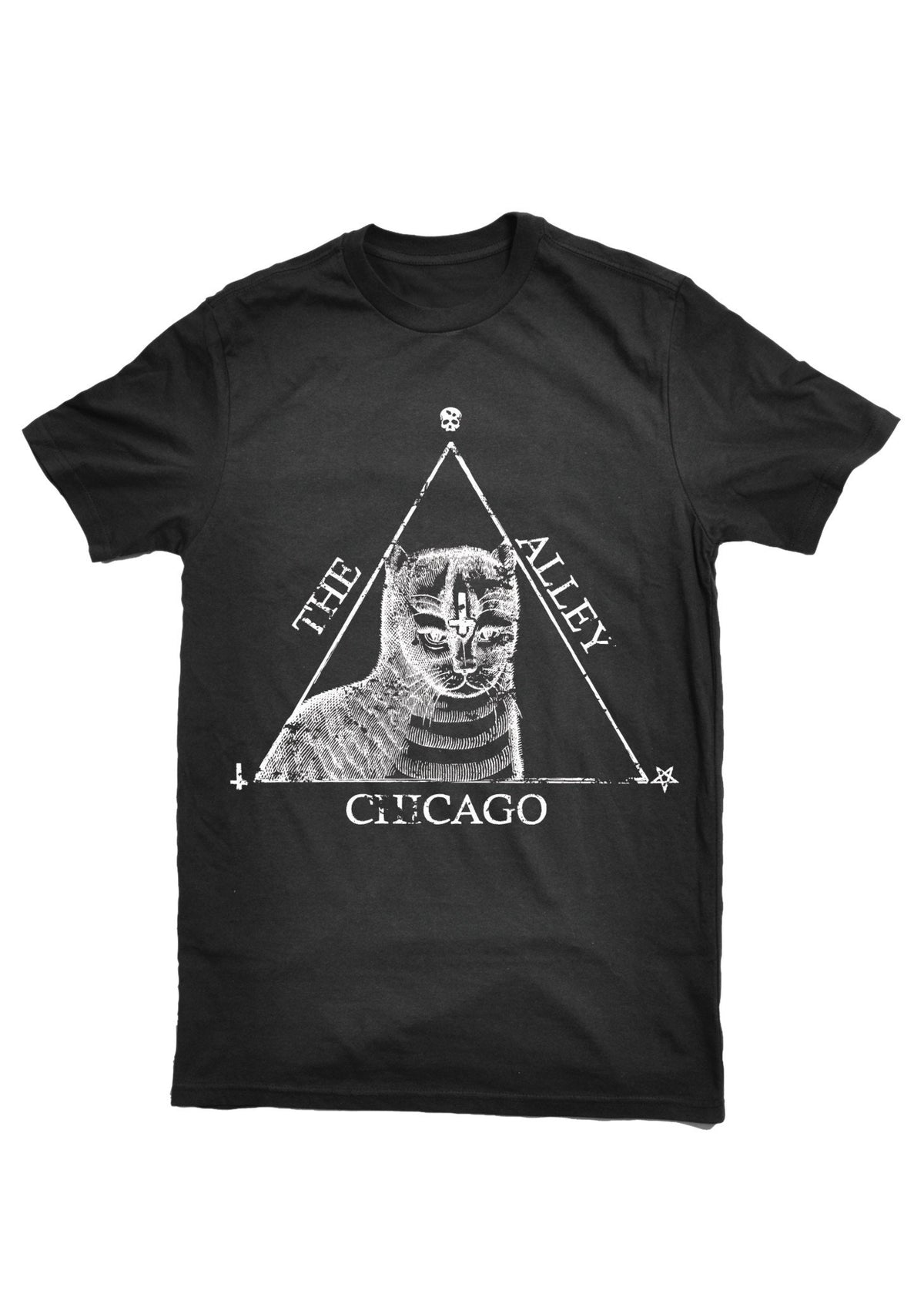 T-Shirts - The Alley Chicago Cat's Magic Triangle T- Shirt