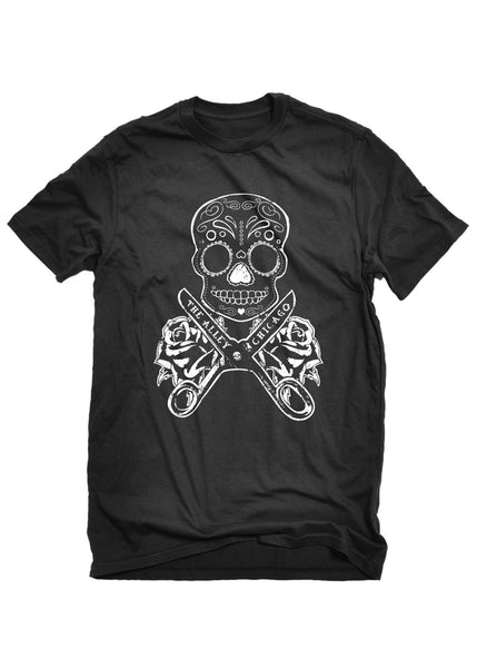 T-Shirts - The Alley Chicago DIY Skull T-shirt