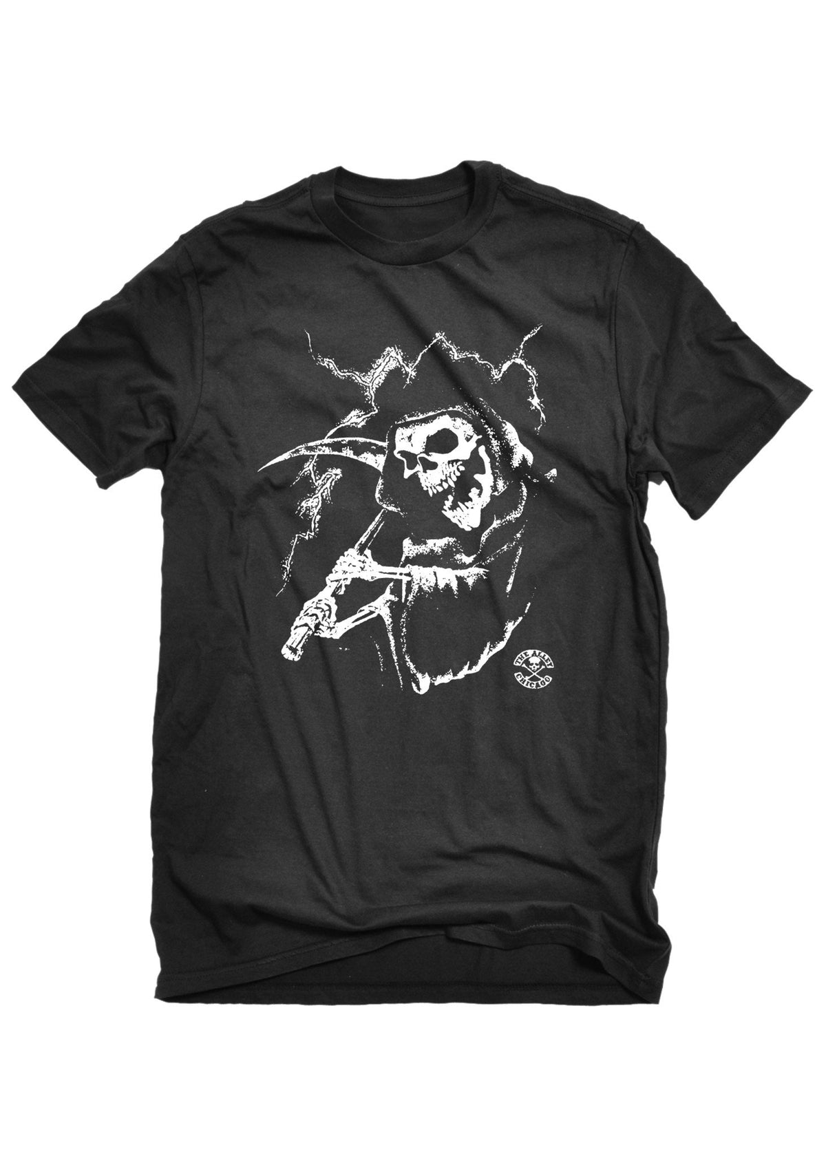 T-Shirts - The Alley Chicago Grim Reaper Lightning T-shirt